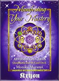 MANIFESTING YOUR MASTERY AFFIRMATION CARD DECK