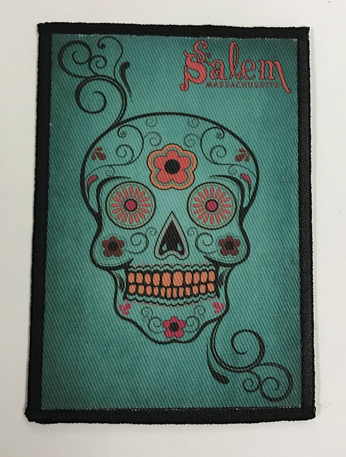 Salem Sugar Skull Collectible Patch