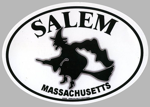 SALEM MASSACHUSETTS STICKER