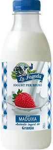 Iogurt per beure Maduixa La Fageda