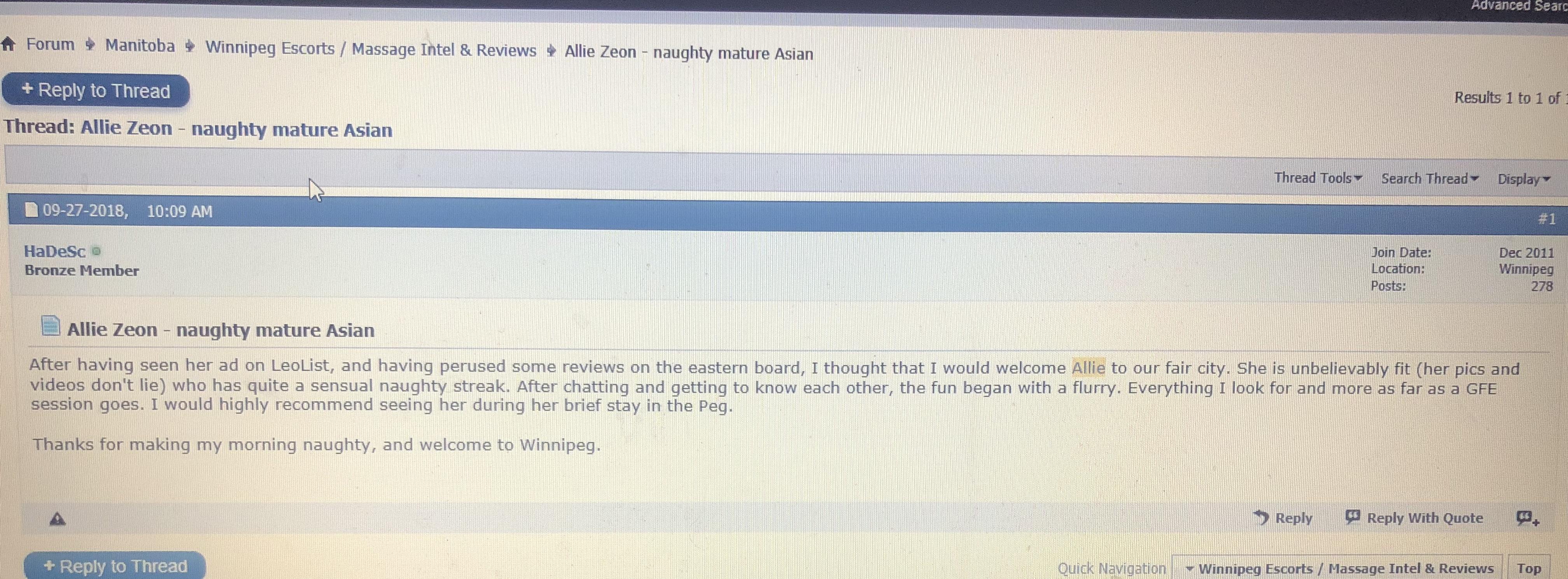 asiatico dating Winnipeg Manitoba