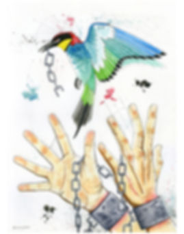 2019.WC.PR.11x14.ChainedGreen-BlueBird.j
