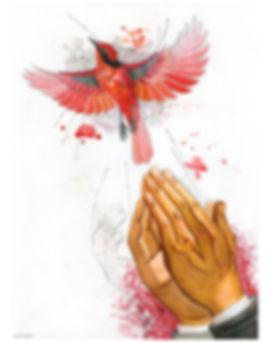 2019.WC.PR.11x14.PrayingRedBird.jpg