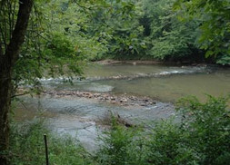 Cherokee Fish Trap