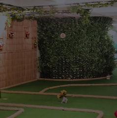 Mini Golfe no Rei do Strike