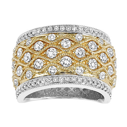 1 CTW Diamond Band
