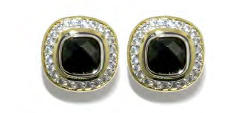 Black Pave Earrings