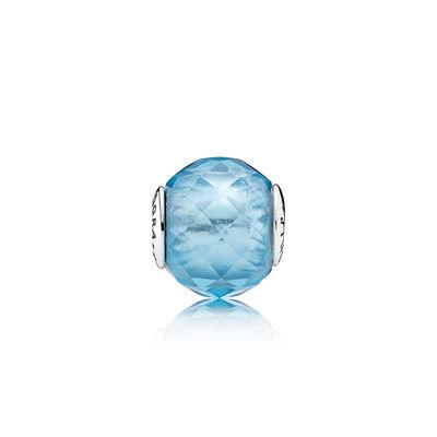 FRIENDSHIP, Sky-Blue Crystal  The striking sky blu