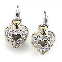 Drop/Dangle Heart Earrings