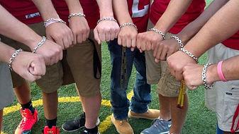 LH High School Football Team Matching Bracelets Senior