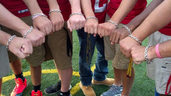 LH High School Football Team Matching Bracelets Senior