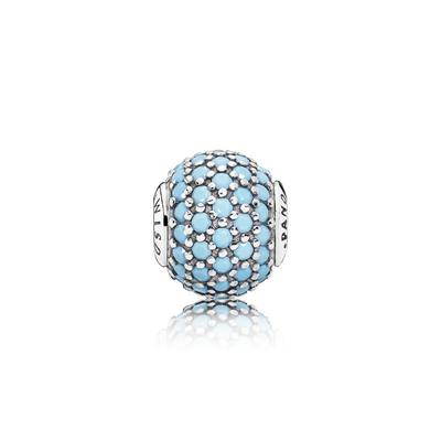 WISDOM, Turquoise-Colored Crystal