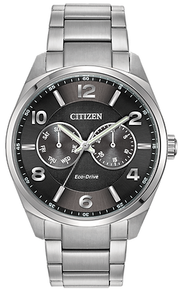 Corso Stainless Steel Eco-Drive Watch
