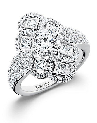 Elegant & Unique Diamond Fashion Ring