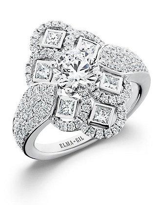 Elegant & Unique Diamond Fashion Ring