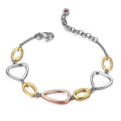 Very on Trend - Open Link Bracelet