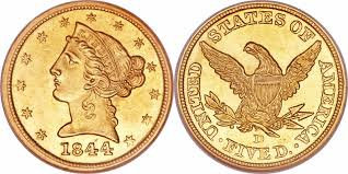 Gold Liberty head $5