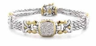 Pave Anvil Bracelet