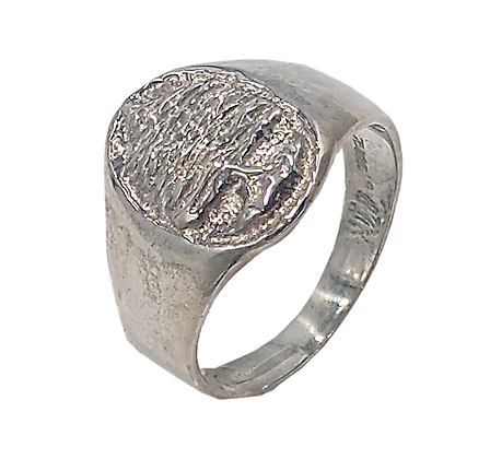 Sterling Silver Cedar Tree Ring