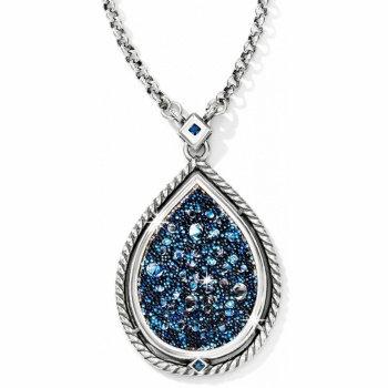 Crystal Medley Teardrop Necklace