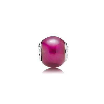 PASSION, Synthetic Ruby  Gleaming sterling silver