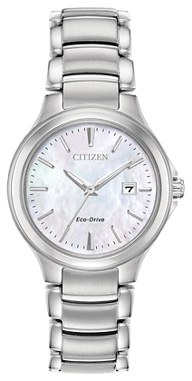 Chandler Eco-Drive Stainless Steel Dress Watch