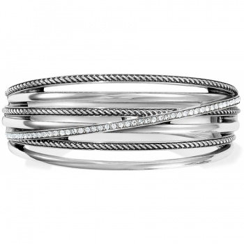 Neptune's Rings Hinged Bangle