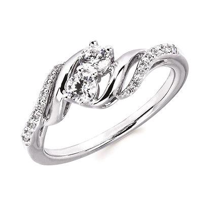 2US 14K Gold Diamond Ring