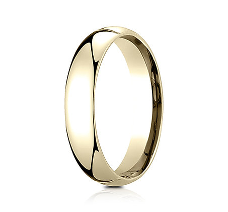 Men's Classic Euro Comfort- Fit Wedding Band