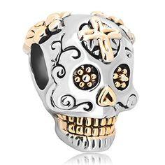 Dia de Muertos skull by Pandora