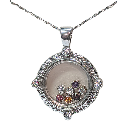 "Birthstone Gem Locket ""Have it with your kids birthstones!"""
