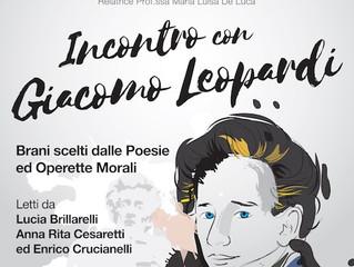 Incontro con Giacomo Leopardi