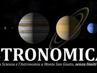 Astronomica: scienza e astronomia a Monte San Giusto
