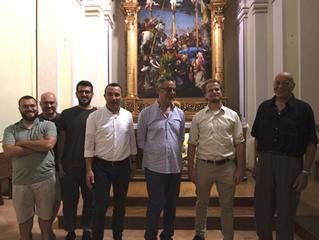 Due studiosi d'eccezione in visita a Monte San Giusto