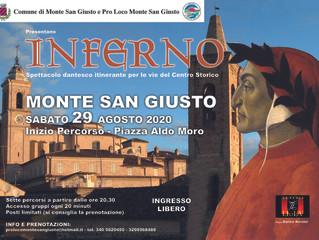 L'inferno di Dante nel centro storico di Monte San Giusto