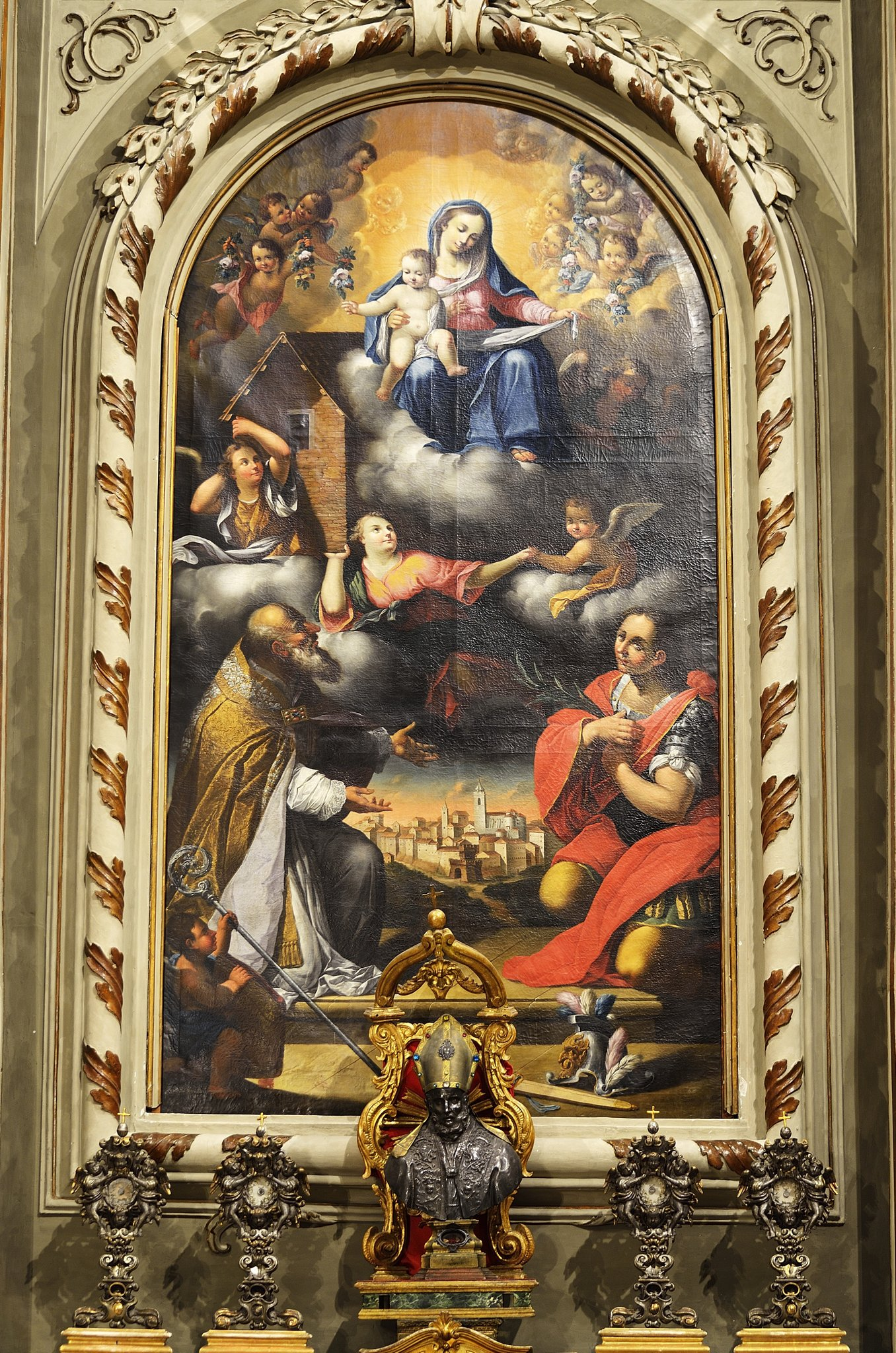 Il paes fra i Santi Giusto e Tossano