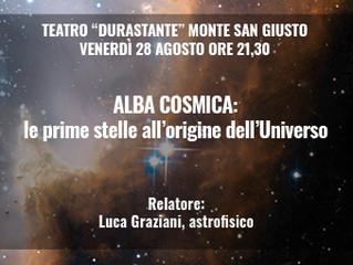 Alba Cosmica: le prime stelle all'origine dell'Universo