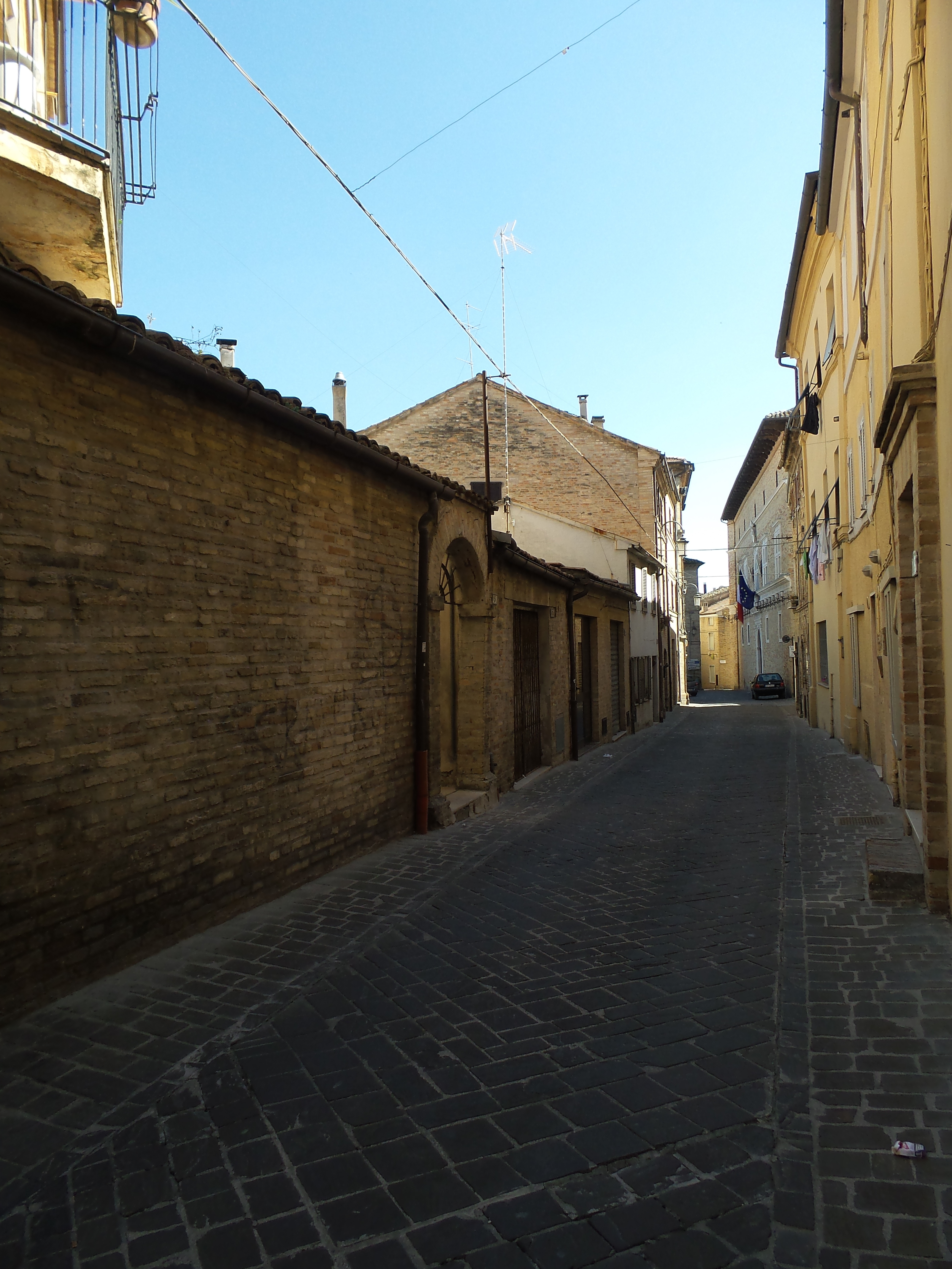Vicoli di Monte San Giusto