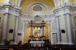 Interno Chiesa delle Panette