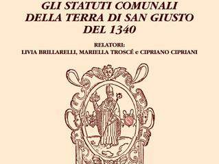 Gli statuti comunali della terra di San Giusto del 1340