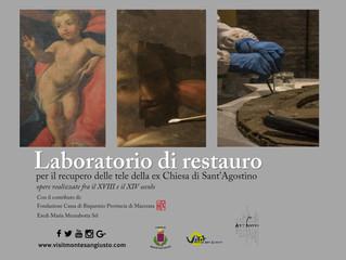 Apre al pubblico il laboratorio di restauro nei musei di Palazzo Bonafede