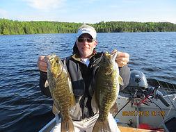 Ontario smallmouth bass fishing trips