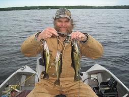 walleye fishing Canada