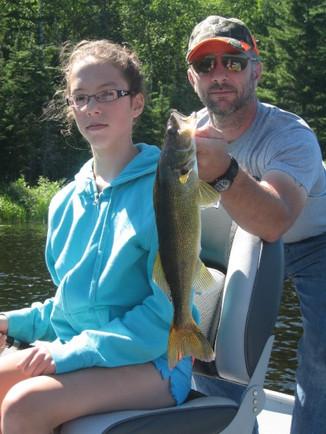 walleye fishing in Canada