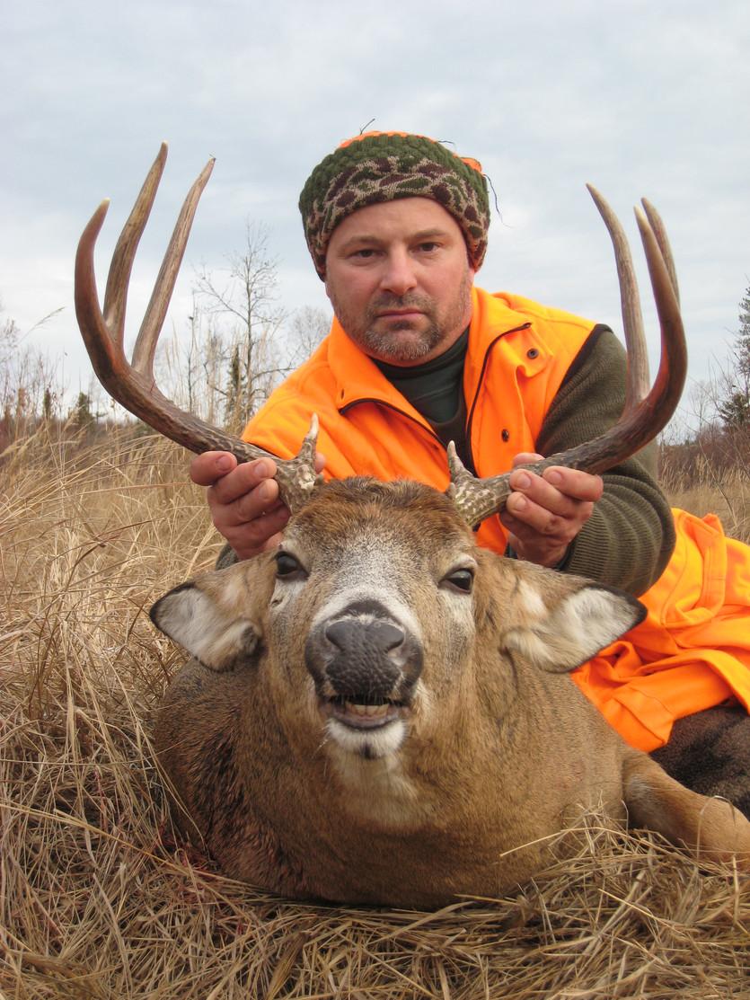 Ontario trophy deer hunt