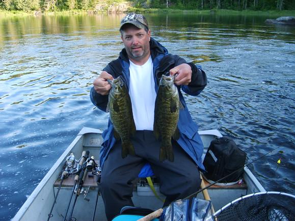 smallmouth bass in Ontario