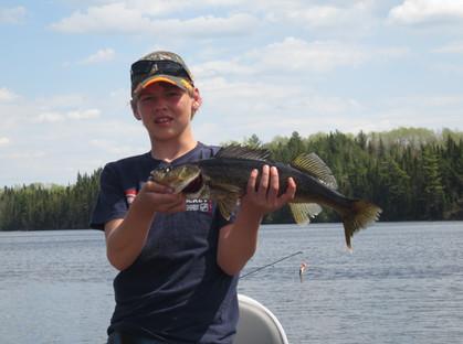 walleye Ontario