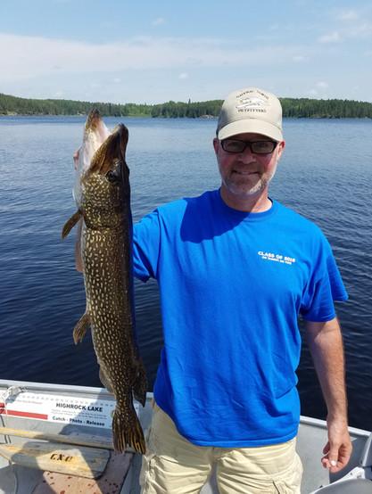 nortehrn pike fishing