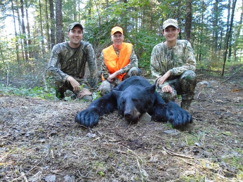Bear hunting guides