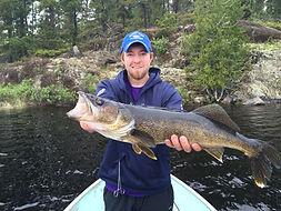 Highrock Lake trophy walleye Canada